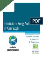 Water Energyaudits