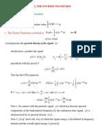 En3 the Fourier Transform