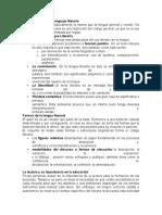 Caracterización Del Lenguaje Literario