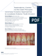 Adhesive Restorations Centric Relation