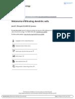 Melanoma Infiltrating Dendritic Cells