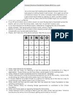 Bingo Debate