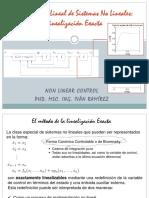 Linealizacion Exacta de Sistemas No Lineales