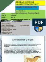 1° Expo ARQIUTECTURA