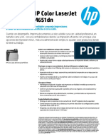 Impresora HP Color LaserJet