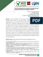 Analise Dos Efeitos Do Programa Bolsa Familia Para Reducao Das Desigualdades Sociais No Rio Grande Do Norte