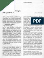 Conceito de Energia Em Química