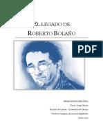 Sobre Roberto Bolaño