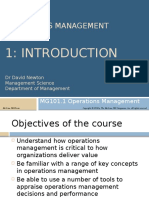 2015-16 MG101 Lecture 1 - Introduction