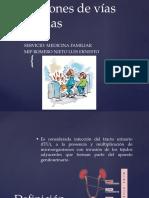 Infeccione de Vías Urinarias Luis