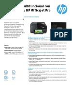 Impresora multifuncional con conexión web HP Officejet Pro 8610