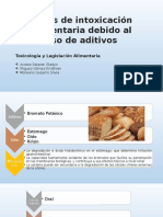 Exposicion Aditivos Toxicologia