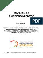 Manual Para Emprendimientos