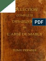 Oeuvres de l Abee de Mably