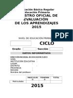 registro auxiliar primaria EBR