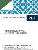 Orientación Sexual