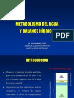 Balance hidroeloectrolítico