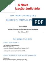 Diapositivos Dr. Paulo Pimenta - Novo Mapa Judiciário