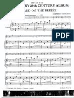 Wye Very Easy 20 Century Album Piano Part