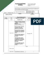 Plan de Auditoria Procesos Gerenciales para Ltmc