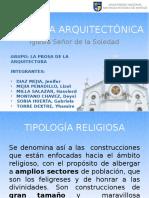 TIPOLOGÍA ARQUITECTÓNICA RELIGIOSA, IGLESIA DE LA SOLEDAD - HUARAZ