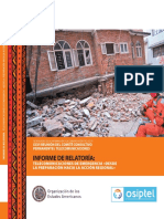 Informe Relatoria-CITEL 2