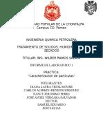 Reporte Practica Caracterizacion de Particulas