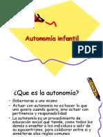 autonomia infantil