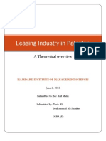 Leasing Industry in Pakistan