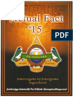 Actual Fact 15 - Interrogate to Intergrate Ingredient