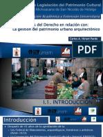 1. Conceptos Basicos Del Derecho Gestión Del Patrimonio Urbano Arquitectónico