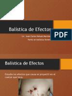 Balística de Efectos