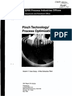 Pinch Technology, Process Optimization. Case Study - A Wax Extraction Plant