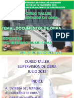 2.1.- Exposicion Supervision de Obra 2013 Ing. Huari
