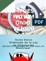 Impuesto Al Patrimonio Vehiculas