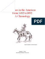 Basque Chronology. Basques in the Americas From 1492 to 1892