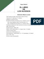ASIMOV ISAAC - El Libro De Los Sucesos.doc