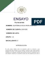 Práctica 09 - Ensayo
