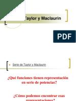 Serie de Taylor y Mcl