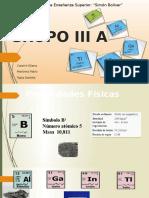Tabla Periodica Grupo 3 A