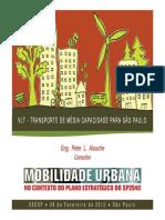 Vlt - Transporte de Média Capacidade Para São Paulo