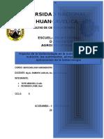 Informe de Impacto de Biotecnologia
