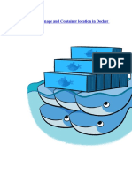 Change Default Image and Container Location in Docker CentOS 7