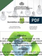 Bombillos convencionales vs. Bombillos de bajo consumo