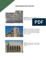 Glosario de Términos Arquitectónicos