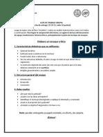 Guía de Trabajo - CINE