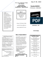 Van Der Math Brochure
