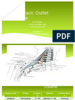 CSS Thoracic Outlet Syndrome