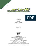 Spartan 16 Manual
