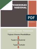 Sistim Pendidikan Nasional